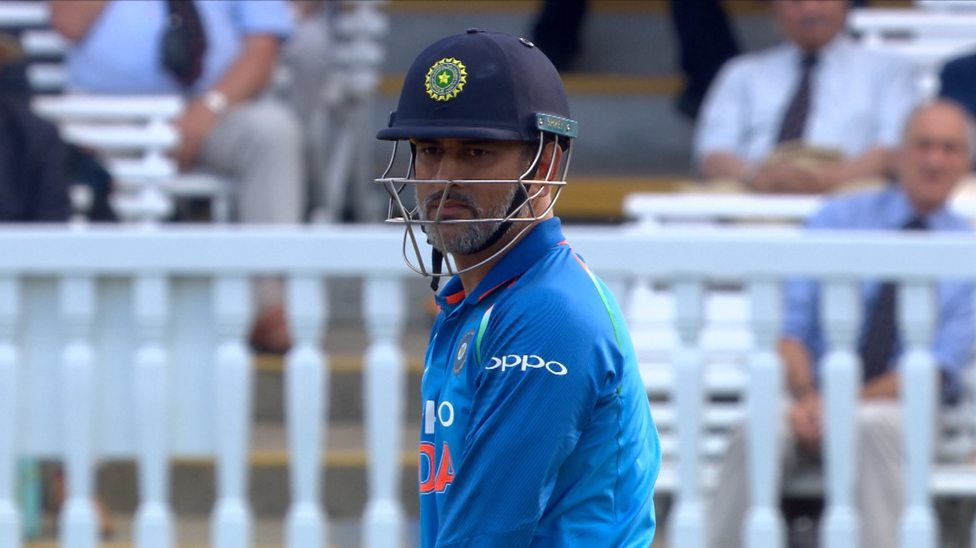 Dhoni sought the ball from the umpire after the third one-dayer, speculation was very strong about sannyas