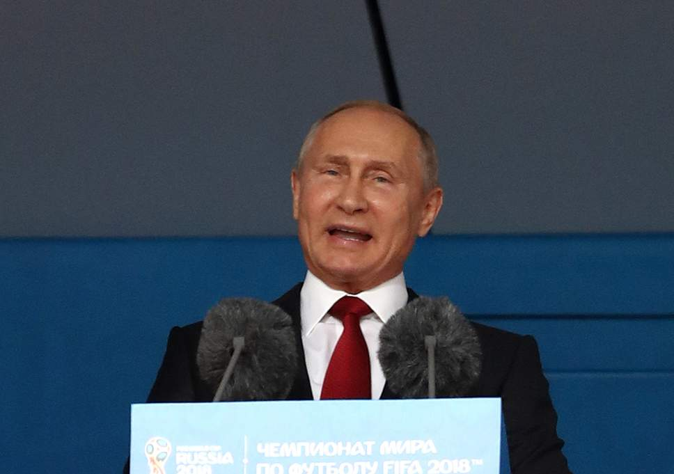 Putin is proud of the successful World Cup