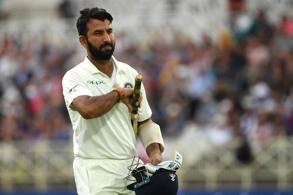 There was pressure but helped by playing county: Pujara