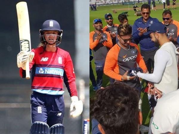 ENG vs IND: टेस्ट टीम में ऋषभ पन्त को मिली जगह तो डेनियल वायट ने एक शब्द में बना दिया महान 18