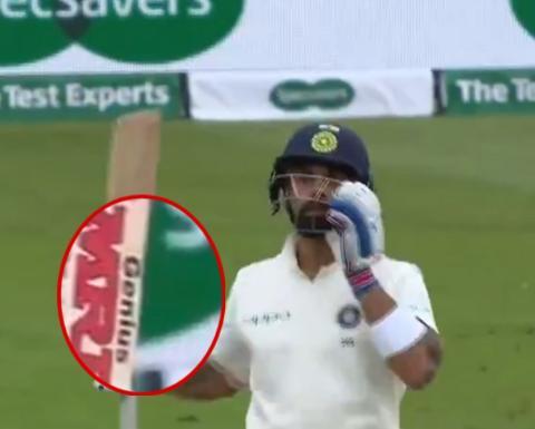 विराट कोहली के बल्ले में छुपा हुआ हैं उनके शानदार बल्लेबाजी का राज, देखे क्या है ख़ास 10