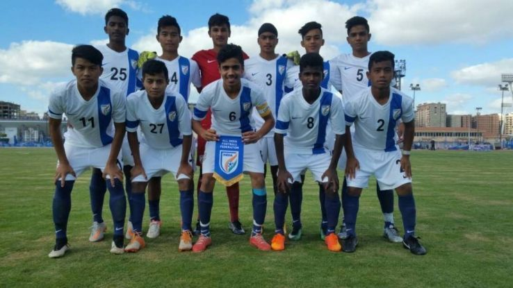 Indian Under-16 soccer team defeated Iraq
