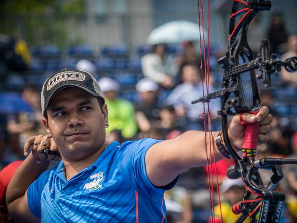 Top archer Abhishek Verma relies on two medalists in Asian Games