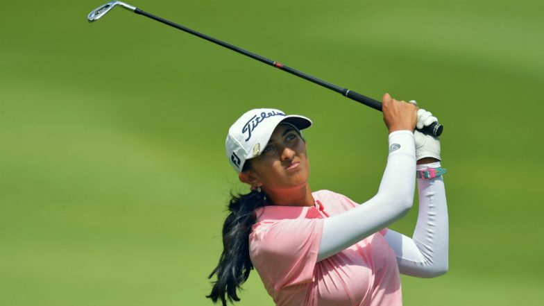 Aditi got the cut for the first time in the British Open