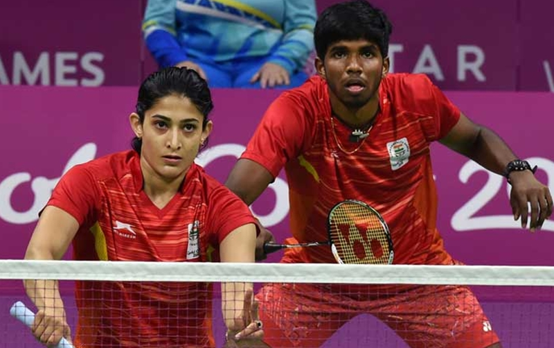 In the quarterfinals of the World Championship, Ashwini-Satvic pair