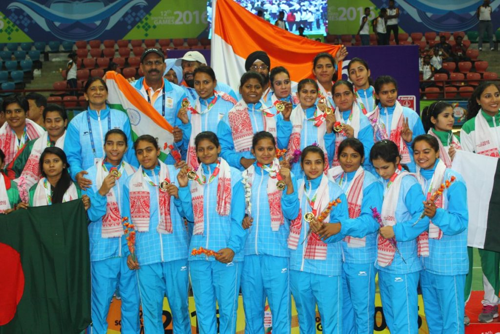 Kazakhstan defeated Indian women handball team