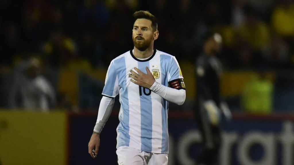 Messi will not play in Argentina's friendship matches