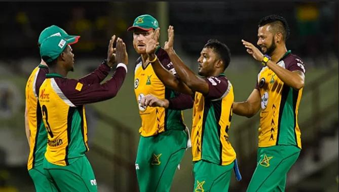 CPL 2018: सेंट लूसिया को 6 गेंदों पर चाहिए था 16 रन और फिर हुआ ये चमत्कार 14