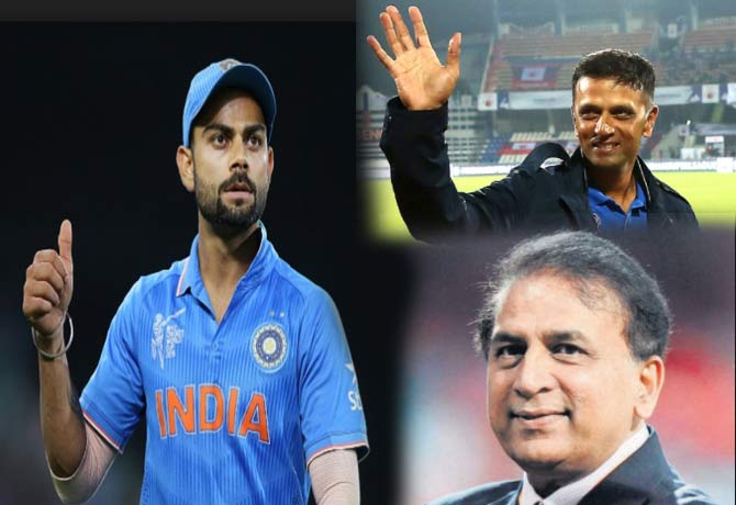 राहुल द्रविड़ और गावस्कर का रिकॉर्ड तोड़ने के करीब हैं विराट, सहवाग ने कहा रिकॉर्ड टूटने पर ऐसा होगा दोनों का रिएक्शन 9
