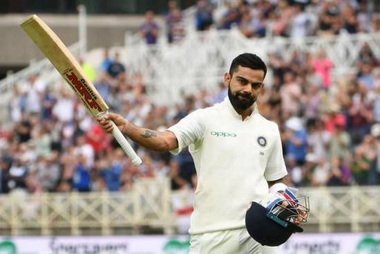 Kohli again became number one in the ICC rankings