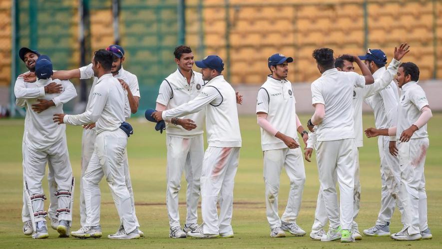 साउथ अफ्रीका के खिलाफ भारत A की तरफ से खेलते हुए विकेट न मिलने से निराश युजवेंद्र चहल ने शेयर की ये तस्वीर 2