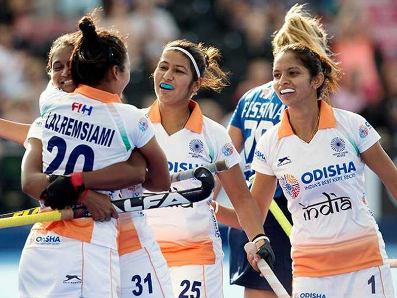 Indian women's hockey team defeated Italy in quarter-finals