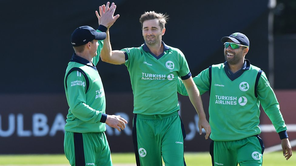 Ireland beat Afghanistan by three wickets