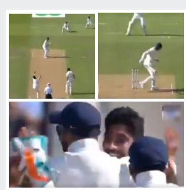 ENG vs IND: जसप्रीत बुमराह ने फेंकी इतनी खतरनाक स्विंग गेंद की पूरा स्टेडियम हैरान रह गया 1