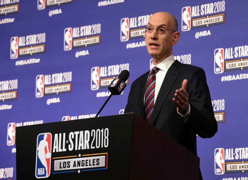 Next year, the NBA session in Mumbai can host a pre-match India: Adam Silver