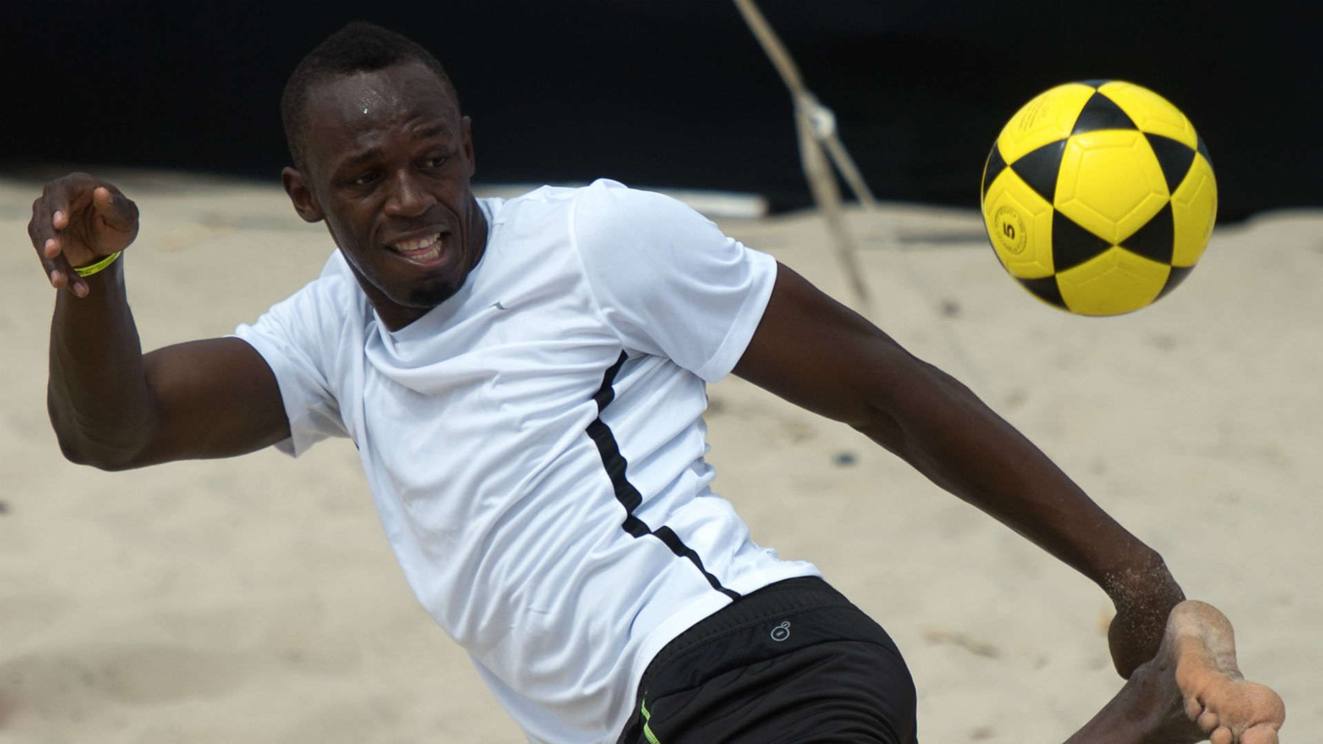 Bolt arrived in Australia with the dream of becoming a professional footballer