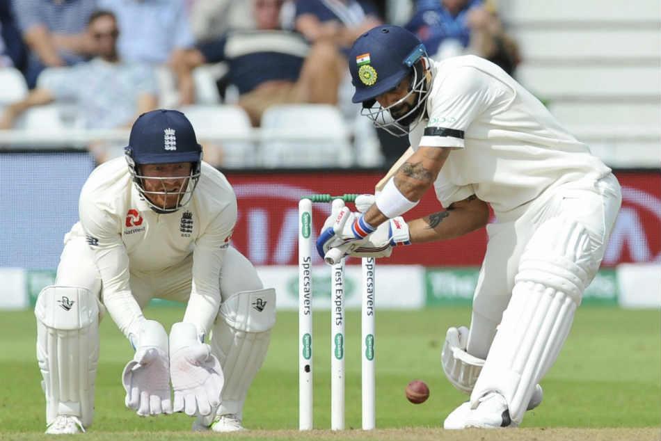 ENG vs IND: 3rd TEST: विराट की शतकीय पारी से भारत ने बनाया 498 रनों की बढ़त, लेकिन अंत तक हार्दिक को नहीं कर सका कोई आउट 60