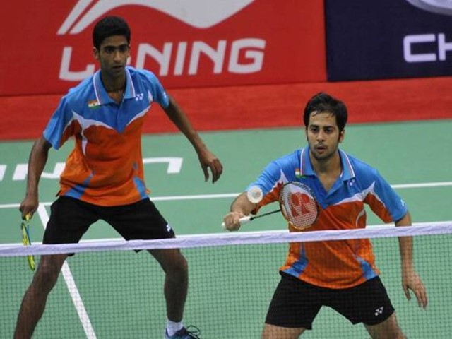 Badminton: Manu-Sumit pair out of China Open