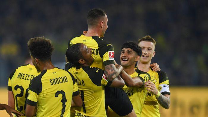 German League: Dortmund defeated Frankfurt 3-1