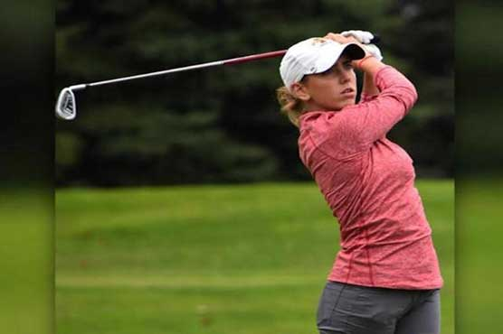 Spanish female golfer kills on golf course