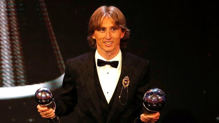 This award is not mine, not my team: Modric