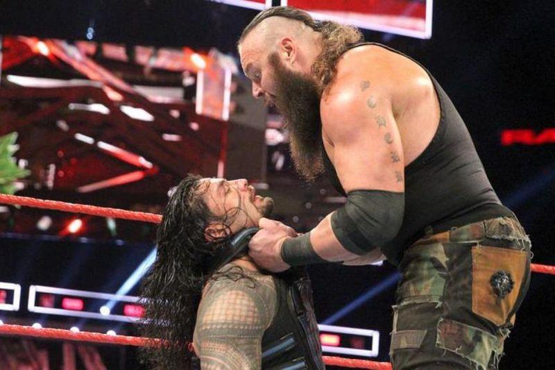WWE 'हैल इन ए सैल': रोमन रेंस बनाम ब्रॉन स्ट्रोमैन मैच इस स्टोरीलाइन के साथ हो सकता हैं खत्म 1