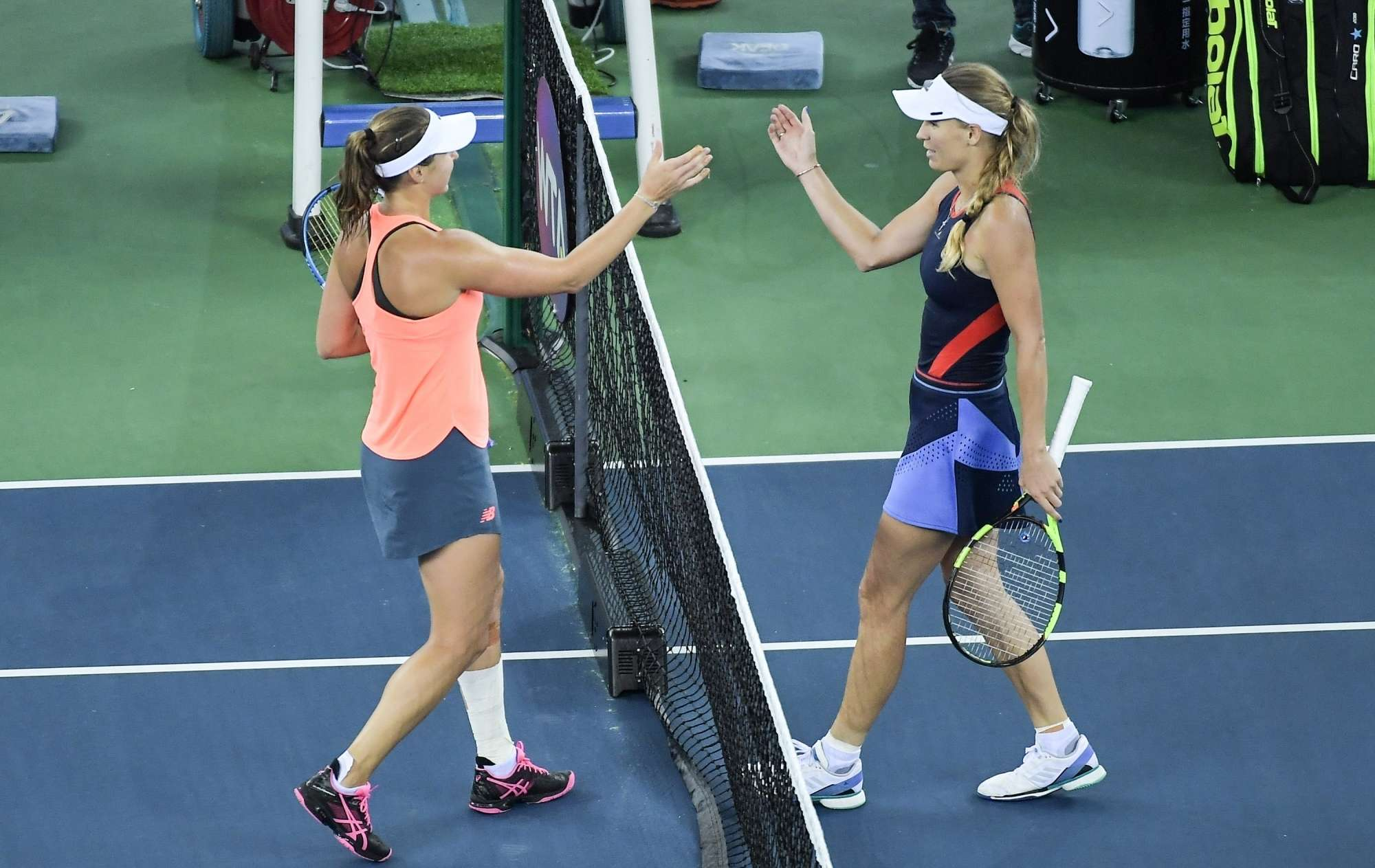 Tennis: Vaughanic in the next round of Peterson beat Wuhan Open