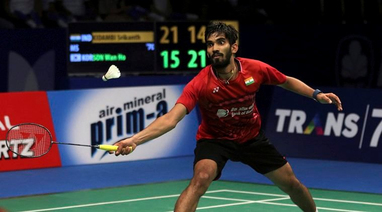 Badminton: Srikanth in the quarterfinals of China Open