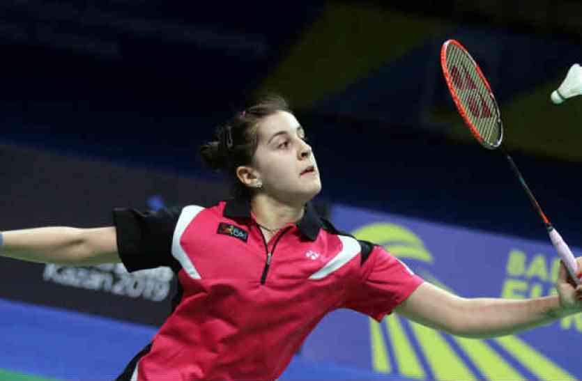 Badminton: Marin confronts Efei in China Open final
