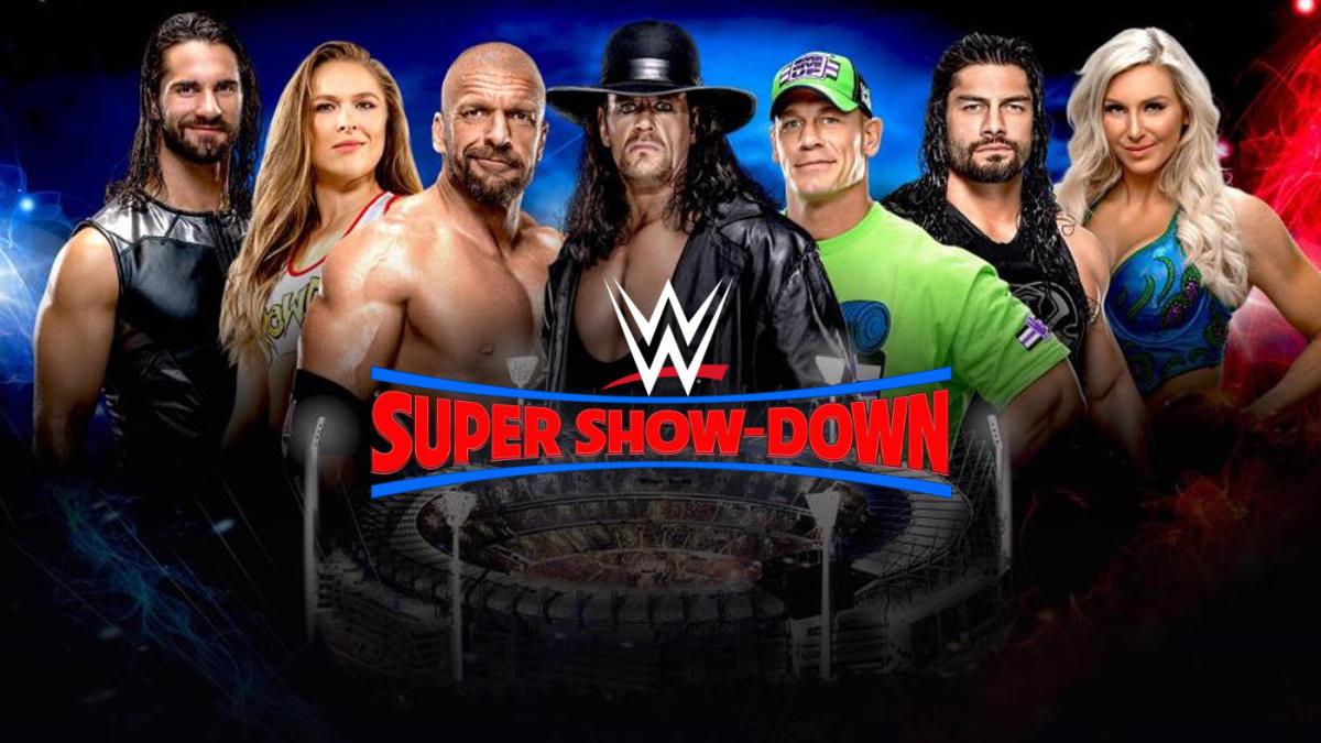 WWE सुपर शो डाउन: 6 अक्टूबर का पूरा मैच कार्ड 11