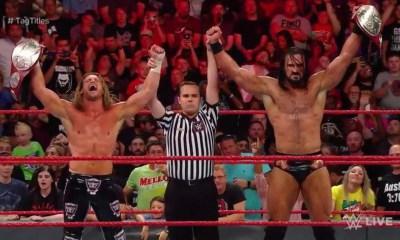क्या डोल्फ ज़िग्लर और ड्रियू मैकइनटायर से छिनने जा रही WWE रॉ टैग-टीम चैंपियनशिप 8