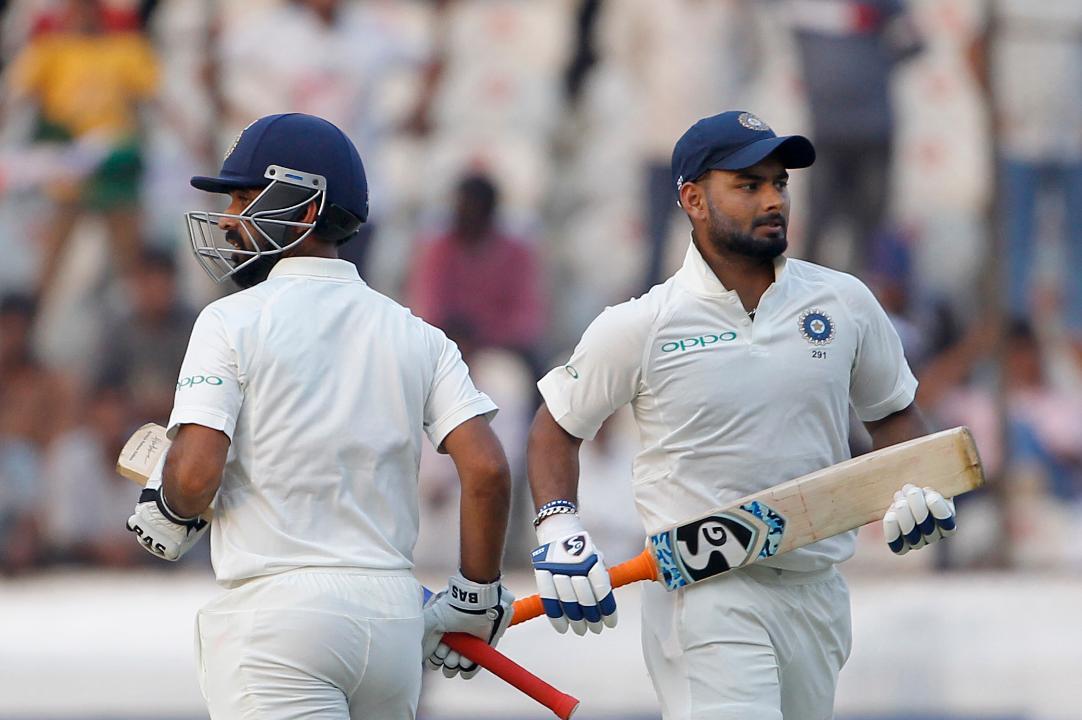 INDvsWI: अजिंक्य रहाणे ने कहा बल्लेबाजी के दौरान ऋषभ पंत से कही थी ये बात तब स्कोर पहुंचा 300 के पार 4