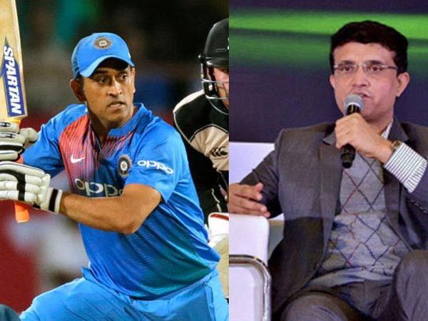 एमएस धोनी के टी-20 टीम से ड्रॉप किए जाने पर पहली बार बोले सौरव गांगुली 16