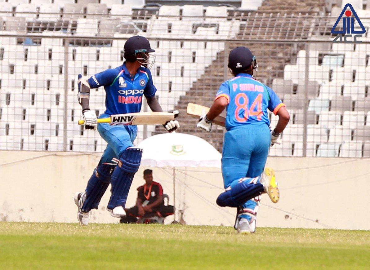 भारत ने किया अंडर-19 एशिया कप पर कब्ज़ा, श्रीलंका को दी करारी शिकस्त 2