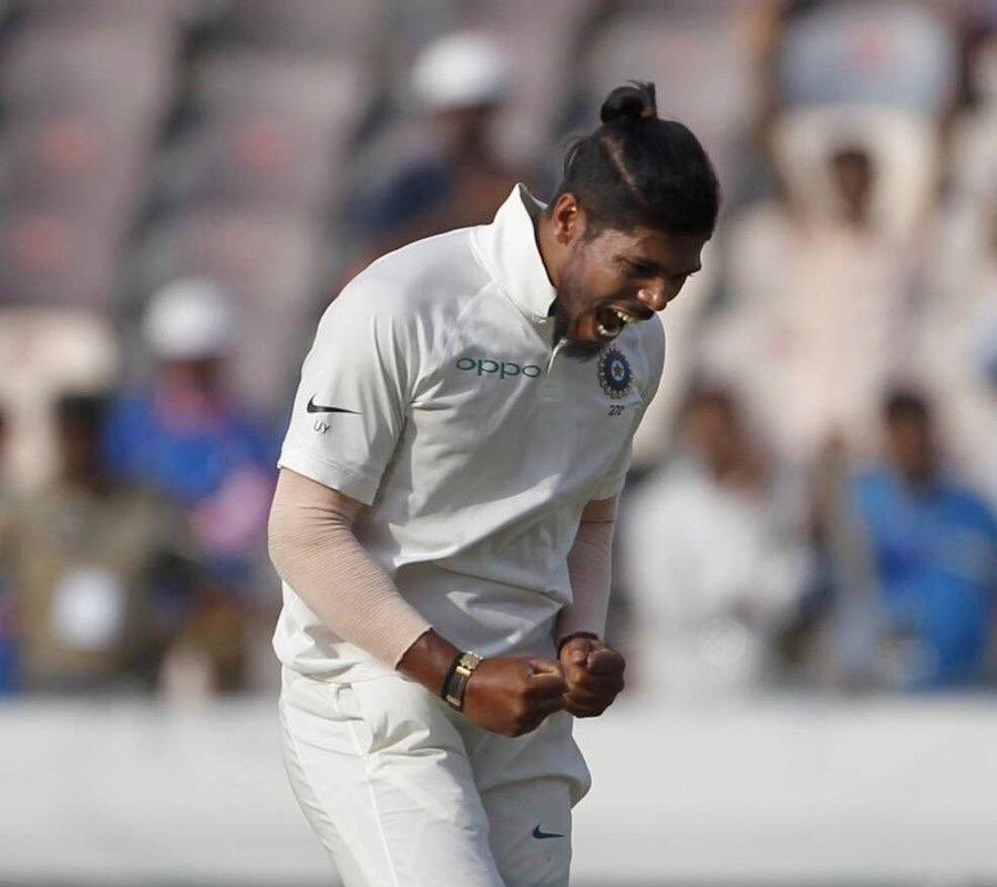 INDvsWI: तीसरे दिन उमेश यादव की गेंदबाजी के अलावा चर्चा में रही ये पांच बातें 36