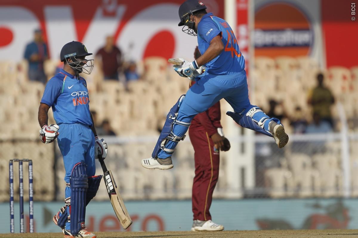 STATS: INDvsWI: रोहित शर्मा ने शतक बनाने के साथ ही बनाये ये 8 रिकार्ड्स, ऐसा करने वाले पहले भारतीय बने 1