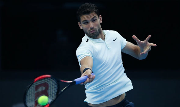 Tennis: Dimitrov out of China Open