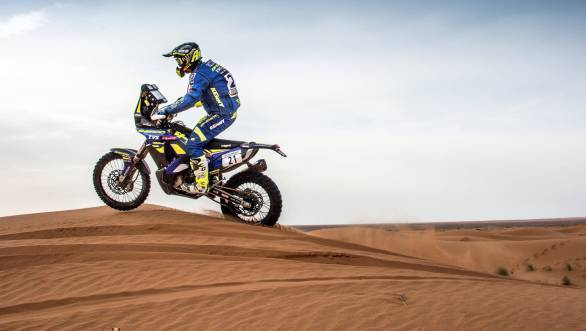 Motorsports: Tanweer ranks second in Rally of Morocco