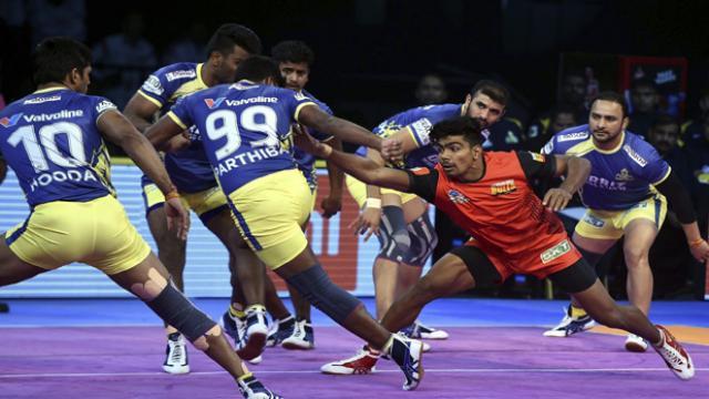 Pro-Kabaddi League-6: Bengaluru Bulls beat Tamil by 48-37