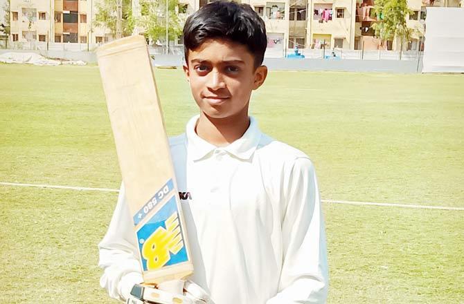 14 वर्षीय भारतीय खिलाड़ी ने रचा इतिहास खेली 556 रनों की नाबाद पारी 1