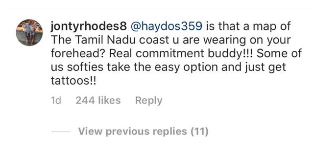 मैथ्यु हेडन की चोट पर जोंटी रोड्स ने बनाया मजाक, किससे कर गये तुलना 3