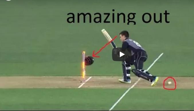 वीडियो : क्रिकेट में पांच बहुत ही अजीबोगरीब तरीके से आउट होने वाले बल्लेबाज 13