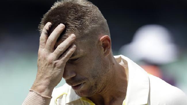 डेविड वार्नर को विपक्षी टीम के खिलाड़ी ने कहा 'कलंक',बल्लेबाजी बीच में छोड़ पवेलियन लौटे 4