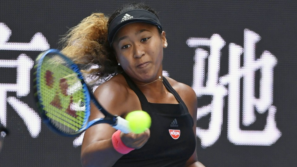 Tennis: Osaka China Open in quarterfinals