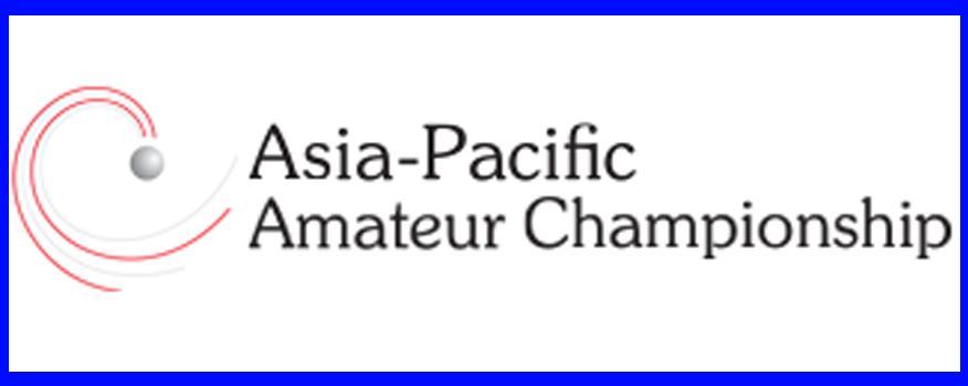 Kishore Horizon Best Indian in Asia Pacific Amateur