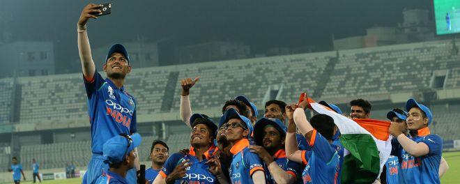 भारतीय जूनियर क्रिकेट टीम के दबंग अंदाज में एशिया कप जीतने पर सौरव गांगुली खुश कही ये बात 1