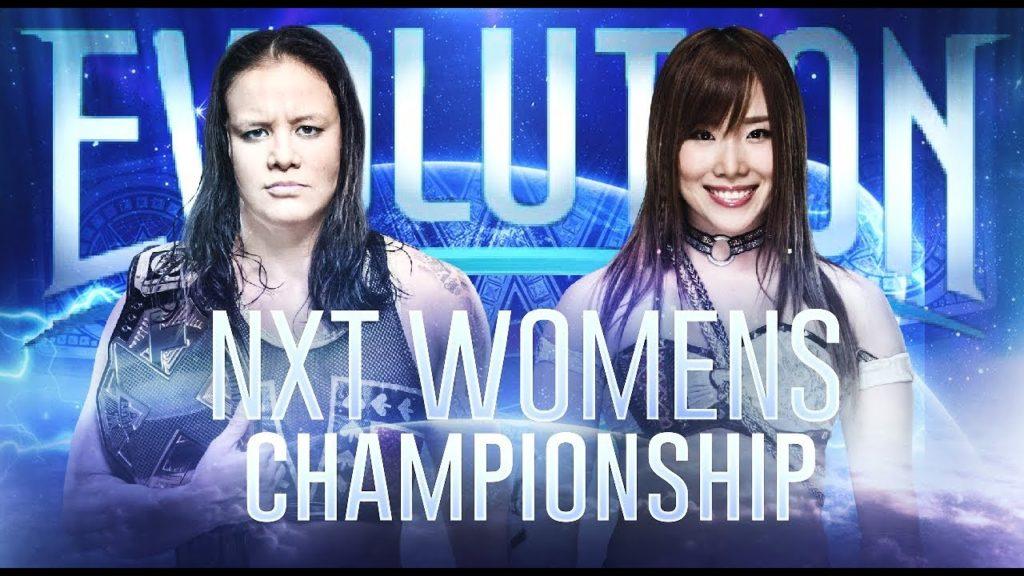 WWE इवॉल्यूशन पे-पर-व्यू इवेंट का पूरा मैच कार्ड 3