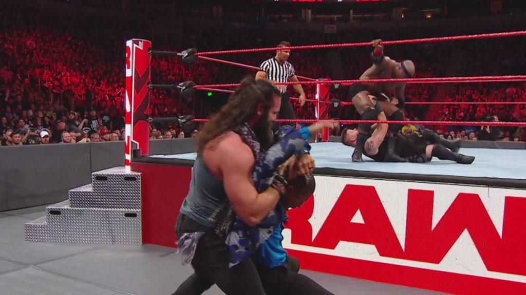 WWE रॉ रिजल्ट्स: 1 अक्टूबर, 2018, रेड मॉन्स्टर की वापसी 7
