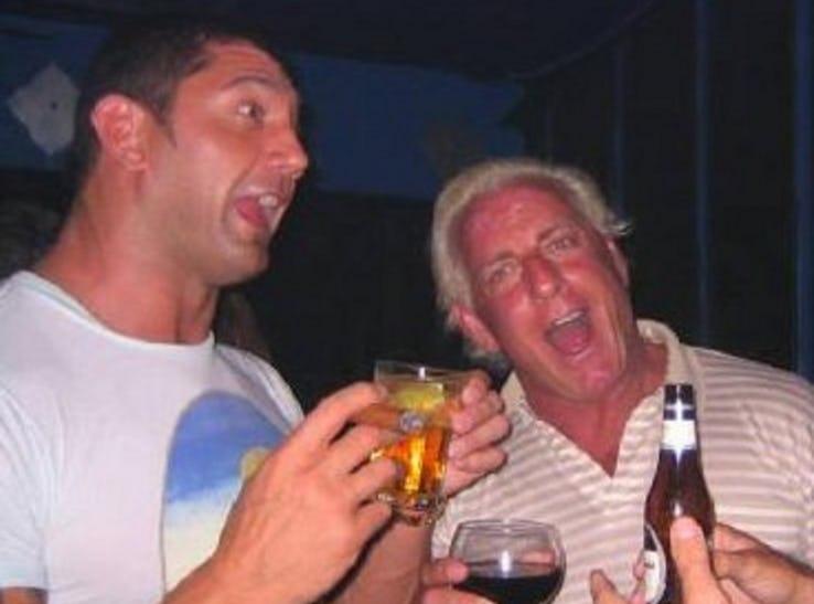 जब इन WWE रेसलरों ने शराब के सेवन के चलते खोया अपना नियंत्रण 5