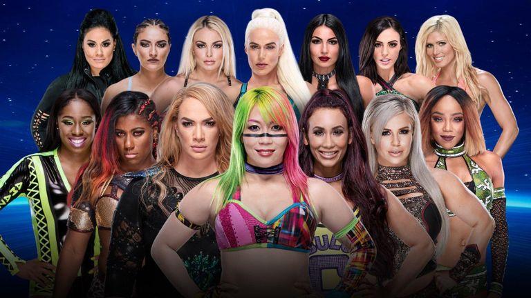 WWE इवॉल्यूशन पे-पर-व्यू इवेंट का पूरा मैच कार्ड 4